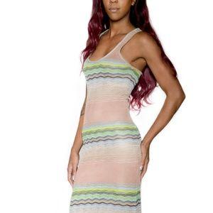 Young Fabulous & Broke Knit Racer Back Maxi Dress